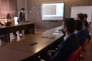 IRES studenti organizovali simulaciju EU debate