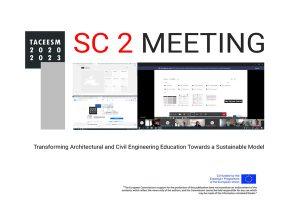 ERASMUS + CAPACITY BUILDING TACEESM PROJECT: Steering committee meeting