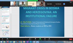 Profesor Kožljak predsjedavao sesijom u okviru Međunarodne konferencije o migracijama